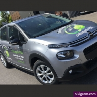 Flocage Citroen C3